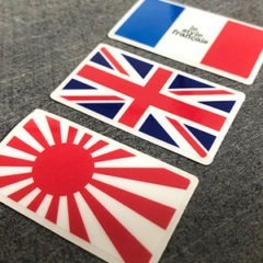 Sticker mini drapeau