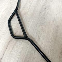 Guidon court noir scrambler / cross