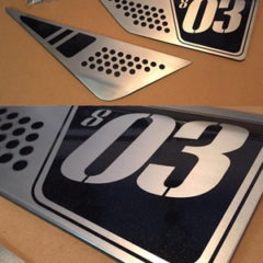 Kit Ducati Scrambler / Plaques latérales