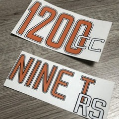 Kit stickers Nine T RS / 1200