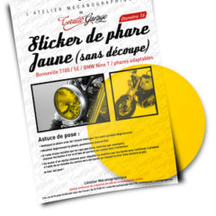 Film phare jaune Nine T